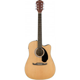 Fender FA-125CE Dreadnought Natural электроакустическая гитара