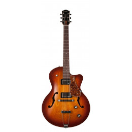 Godin 039289 5th Avenue CW Kingpin II HB Cognac Burst Электрогитара