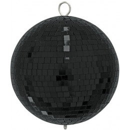 Eurolite Mirror Ball 20cm Black mate Зеркальный шар 200 мм