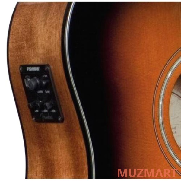 Fender CD-60CE Dreadnought Brown Sunburst Электроакустическая гитара